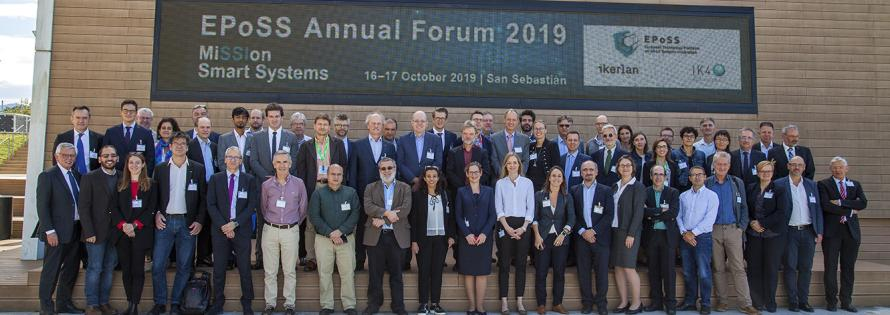 EPoSS Annual Forum 2019 Group Photo