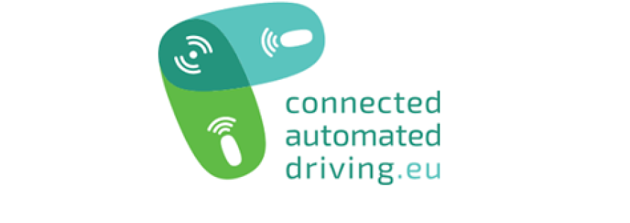 connected automated driving logo square
