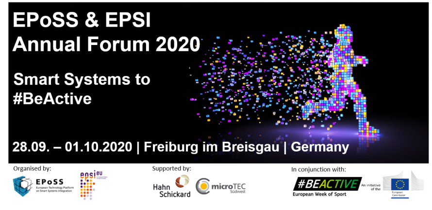 EPoSS Annual Forum 2020 Banner